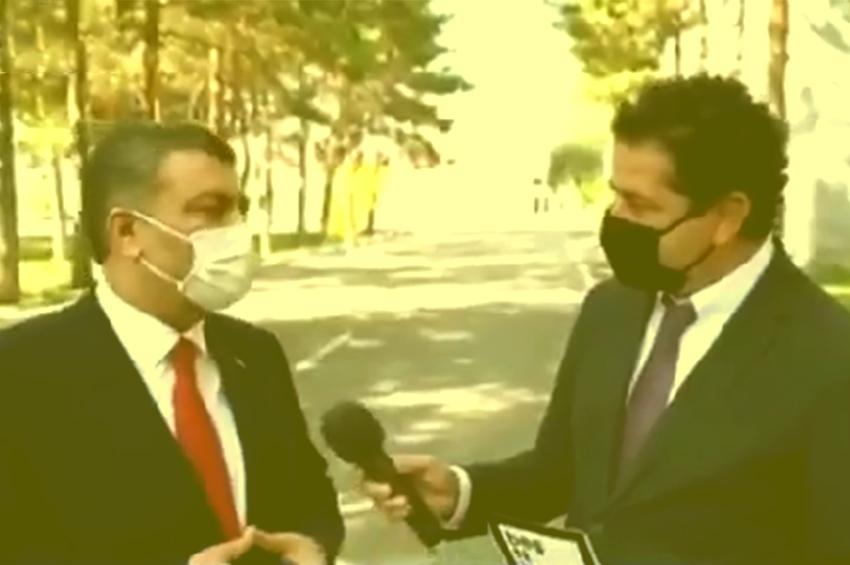 Sağlık Bakanı Koca'nın ''Menzil'' Cevabı