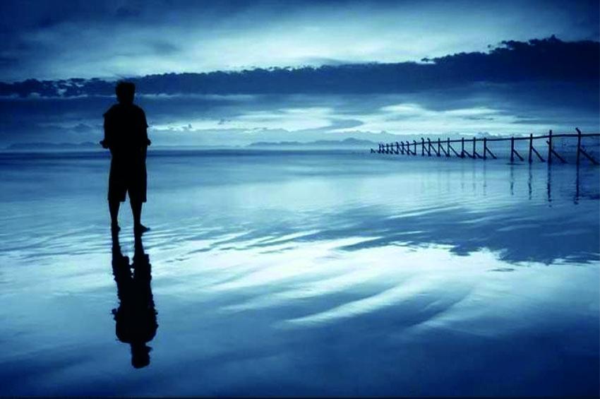 Deniz Kıyısında Yürümek Yasaktır Yüzme Bilmeyene