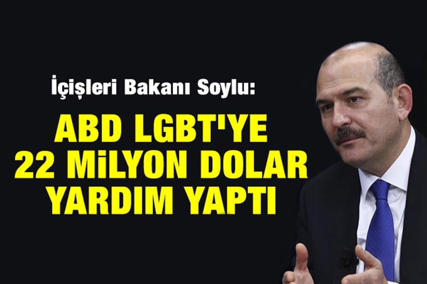 LGBT Mevzuunda Süleyman Soylu'ya...