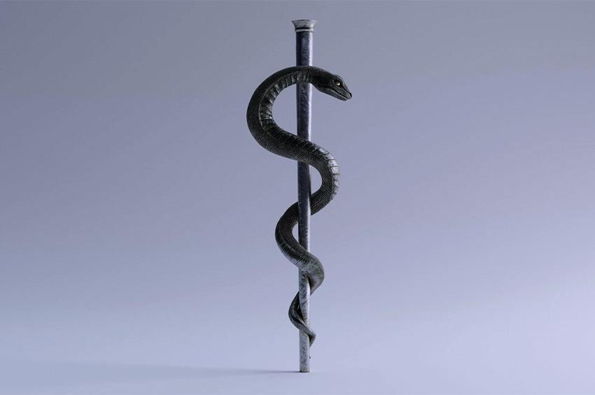 Sağlık Tanrısı Asklepios, Aşı Buyurdu!